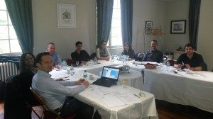Salient in Bordeaux delivering Technical;Sales Training